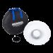 Hensel Kit Beauty Dish bianco con griglia a nido d`ape cm18  e borsa
