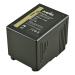 Jupio batteria V-Mount (RED Raven/Dragon) 14.8v 12800mAh (190Wh) - spia LED . D-Tap and USB 5v DC Output