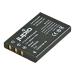 Jupio Batteria fotocamera NP-30 per Casio/NP-60 per Fuji/L1812A/R07 per HP/SLB-1137/Pentax D-Li2/KLIC5000