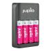 Jupio caricatore batteria Led -  USB 4-slots