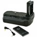Jupio Batterygrip per Canon EOS 77D/ 800D/ 9000D + cavo