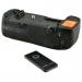 Jupio Batterygrip per Nikon D850 (MB-D18) + 2.4 Ghz Wireless