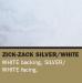 Sunbounce SUN BOUNCE pannello riflettente 90x122cm zig zag argento/Bianco – retro bianco