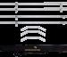 Sunbounce SUN STRIP telaio 190x57cm con tracolla