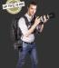 Sun Sniper ROTABALL TPH Tracolla tripla con attacco di sicurezza in acciaio e cinghia anti-scippo nero